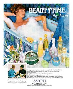 Old school Avon ad! See how great Avon is! Vintage Makeup Ads, Vintage Avon, Vintage Beauty, Retro Makeup, Vintage Girls, Vintage Items, Nostalgia, Best Cheap Perfume, Avon Perfume