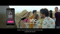 Viaggi è il titolo di uno dei tre nuovi spot della campagna Meetic #LoveYourImperfections, giunta ormai al terzo anno, Stesso sottofondo musicale di alt-j per i tre episodi.