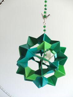 ST PATRICKS Ornament Decoration Home Décor 3D Modular by BoldFolds, $45.00