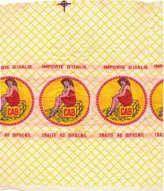 Orange Paper, Tissue Paper, Vintage Prints, Packaging Design, Signage, Wraps, Banana, Design Inspiration, Wrapping