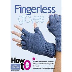 Fingerless Gloves #1907 - Knitting - Lincraft