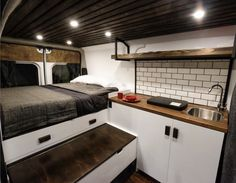 Adorable Wood Interior Ideas For Sprinter Van Camper, Volkswagen campers stick out from the crowd. A Sprinter van camper is readily the most flexible type of Sprinter RV. Our very last RV had one small ba.
