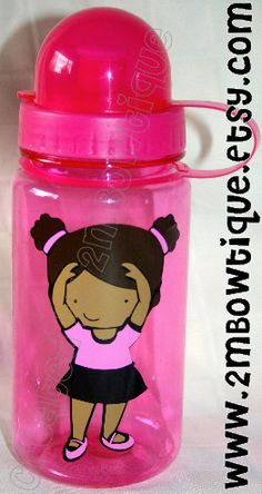 Customized Tiny Dancer Personalized Water Bottle, FREE personalization. Great recital gift idea. https://www.etsy.com/listing/125290068/tiny-dancer-personalized-water-bottle?ref=shop_home_active