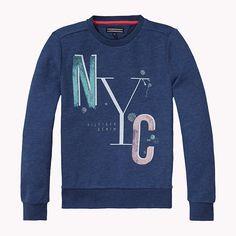 Tommy Hilfiger Sweat-shirt En Mélange De Coton - estate blue (Bleu) - Tommy Hilfiger Chandails - image principale