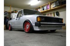 mk1 vw caddy - air ride, notched frame Vw Mk1, Volkswagen Caddy, Mk1 Caddy, Vw Rat Rod, Vw Pickup, Mk 1, Golf 1, Air Ride, Car In The World