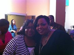 Gayle and Coco from show.