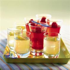 Gin and tonic jellies recipe. Britain's favourite pre-dinner drink is transformed into a party jelly in this clever recipe.