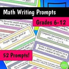 math writing prompts 6th grade 1 introduct ion introduction this booklet explains the act aspire grade 6 writing test by presenting a sample test prompt the prompt is accompanied by its depth-of-knowledge (dok) level,1 an explanation of the.