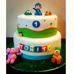 Pocoyo cake  Torta  @cupcakesite