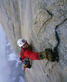 For serious big wall climbers simply being this far off of the ground isn't scary or dangerous in itself...