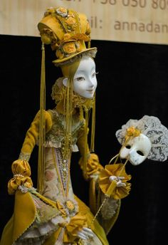 """Anna Arbenina-Pinchuk Some """"doll artists"""" are just fashion designers in disguise. Like Annadan - her dolls are as interesting and versatile as a bunch of slightly different coat hangers! None the less, admirable work :)"""