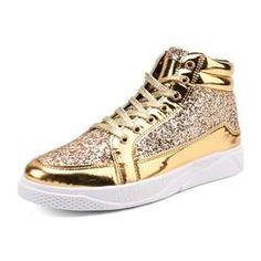 cheap with credit card shop online Sequin Mid-Cut Plain Men's Athletic Shoes sale for sale KEXPisWvq