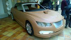 OG | Saab 9-3 Cabriolet | Clay model