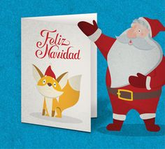 Custom Holiday Greeting Cards for business.