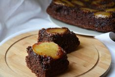 A delicious chocolate cake you will always remember . Pear Cake, Vanilla Paste, Tasty Chocolate Cake, Cake Batter, Melted Butter, Baking Pans, Tray Bakes, Yummy Cakes, How To Make Cake
