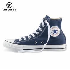 0a117b4900f1 Original Converse all star shoes men women s sneakers canvas shoes all  black high classic Skateboarding Shoes