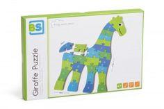 Puzzle układanka żyrafa A-Z BUITEN SPEEL drewniana