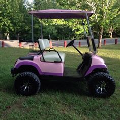 1998 Yamaha 48 volt lifted golf cart. Comes with charger. The batteries were purchased last year. This cart has a jake lift kit on it, LED headligh... image 1