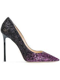 Romy glittered pumps