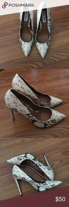 Stiletto shoes Only wore once. High heels Steve Madden Shoes Heels