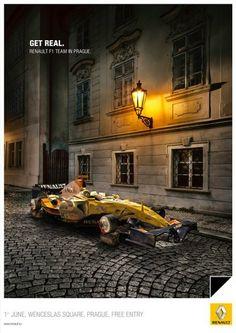 Get Real - Renault F1 Team in Prague