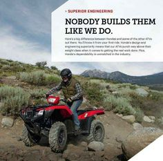 New 2016 Honda FourTrax® Foreman® Rubicon® 4x4 Automatic DCT ATVs For Sale in Arizona. Call Western Honda Powersports at 480.524.1435, text, or come see us for more information- Visit/ call us with $$ deposit and or be ready to buy this awesome machine!   Our Powersports Dealership offers the lowest pricing possible, combined with a low pressure, easy to deal with, friendly staff.   Everything is on sale at Western Honda in our Sales, Parts and Honda Service Departments. We shop the…