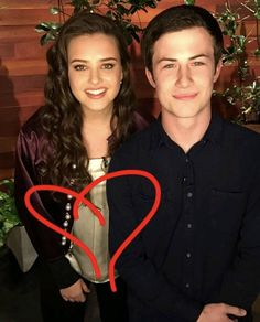Dylan Minnette and Katherine Langford -The Ellen Show