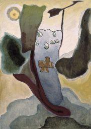 Cross and Weather Vane Arthur Dove, 1935, Early US artist prior to avant garde art movement