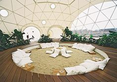 geodesic domes are great. buckminster fuller is the best! i grew up in one.