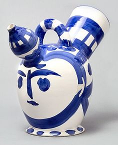 Masterworks Fine Art - Pichet à Glace (Ice-Pitcher), 1952, a ceramic sculpture by Pablo Picasso.