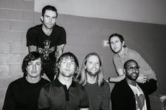 Love these guys! Maroon 5, Matt Flynn, Songs About Jane, James Valentine, Adam Levine, Adam And Eve, Music Bands, Music Artists, Rock Bands