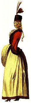 Uhorským šlachtičnám v roku 1790 určovala módnu líniu hlavne najnovšia francúzka móda