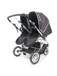 Stroll Air My Duo Double Twin Stroller - umm this will be my double stroller!! I love that its side by side and has all the cool things the Britax has (something the Britax sadly doesn't do is side by side). The seats can go face backwards or forwards, can have bassinette or carseat.