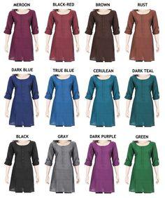 PLUS SIZE Kleidung indischen ethnischen Cotton Full von theaonline