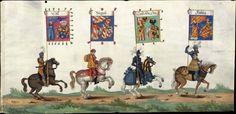 Albrecht Altdorfer (c. 1480 -1538), Hans Burgkmair (1473-1531), Albrecht Dürer (1471-1528) & others — Triumphal Procession, 1517 (1440x699)