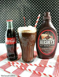 Vintage Chocolate Coke