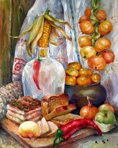 Перепелкина Юлия. Украинский натюрморт