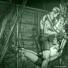 Tied and Twisted Art - LePeru (Nizah) - Steve/Tony