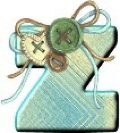 FLORES Y LETRAS PARA DECOUPAGE (pág. 238) | Aprender manualidades es facilisimo.com