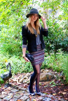 Polished Cats: Outfit: Classic autumn