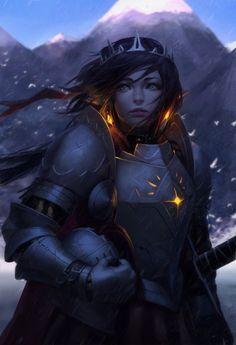 dinopasta33: foxy-nerdy: Snow Knight v2 by...
