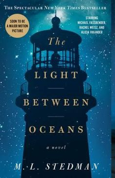 11. A book that's becoming a movie this year: The Light Between Oceans by M.L. Stedman