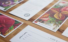Emporium Pie 02 / gorgeous new stationary set designed by FoundryCo. via It's Nice That #stationary #pie