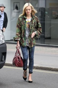 Standing Out Whilst Blending In- SS13 Trend Camo | lottiebeth fern cotton in camo