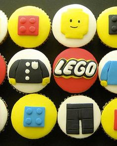 Shake My Blog | Des cupcakes Lego