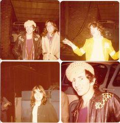 AC/DC - Bon and Mark, Angus, Malcolm - in Australia, 1975
