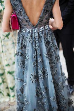 This dress!   Valentino   Photo credit: KevinTachman/BackstageAT   Vogue