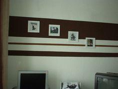 Wandfarbe Streifen Streichen 3   Wohnung Streichen Ideen