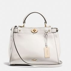 The Mini Gramercy Satchel In Leather from Coach.   Ob-sessed.