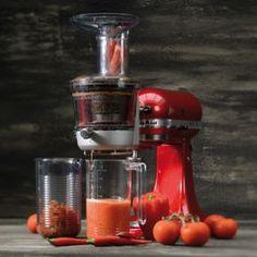 KitchenAid Entsafter-Vorsatz Kitchen Aid Artisan, Legume Bio, Tips & Tricks, Wonderful Things, Fruits And Vegetables, Smoothies, Coffee Maker, Kitchen Appliances, Canning
